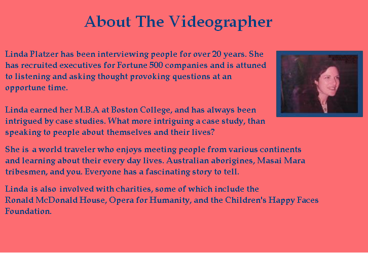 About the Videographer
